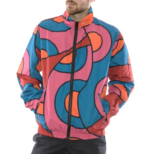 PARRA SERPENT PATTERN TRACK TOP MULTI