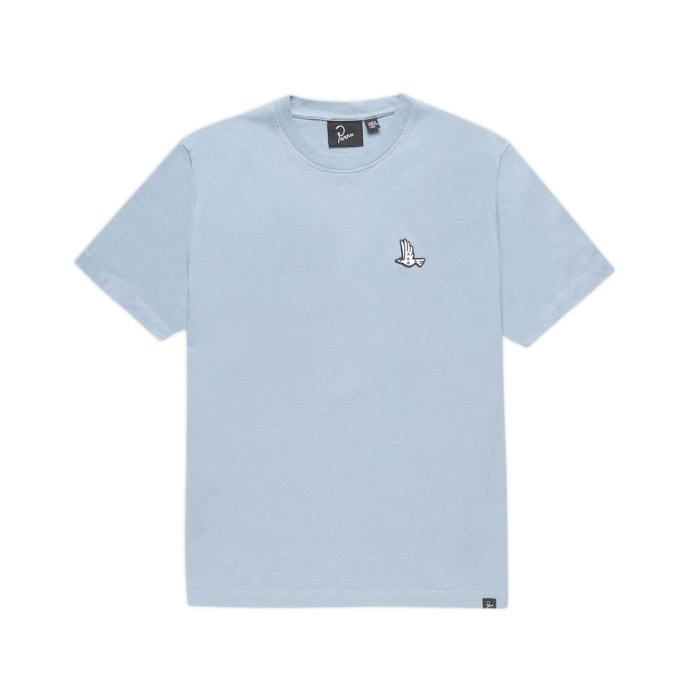 PARRA MOTHER NATURE TEE DUSTY BLUE