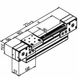 Timing belt linear positioner