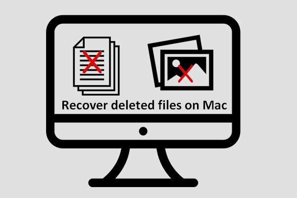 miniatura de recuperação de arquivo mac