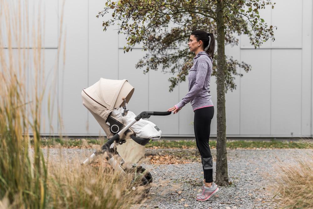 Sport mit Kinderwagen: Übungen für dein Workout mit Baby