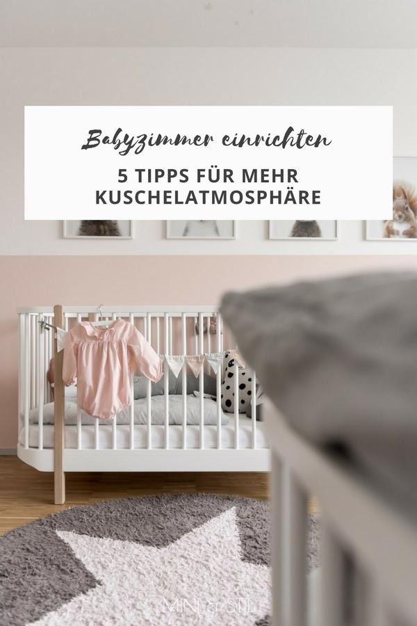 Kinderzimmer einrichten: 5 Tipps für mehr Kuschelatmospähre im Kinderzimmer #kinderzimmer #kinderzimmerdeko #babyzimmer #kidsroom #babyroom #nursery