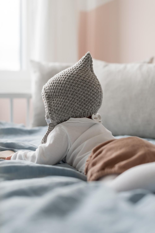 Die schönsten Pixie Mützen und Zwergenmützen für Kinder und Babys. Zum selber stricken oder kaufen #pixiemütze #zwergenmütze #babymütze #stricken