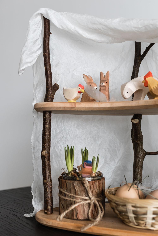 Ostern mit Kindern: Wie wir die Osterwochen ganzheitlich feiern #ostern #jahreszeitenhaus #ostheimer