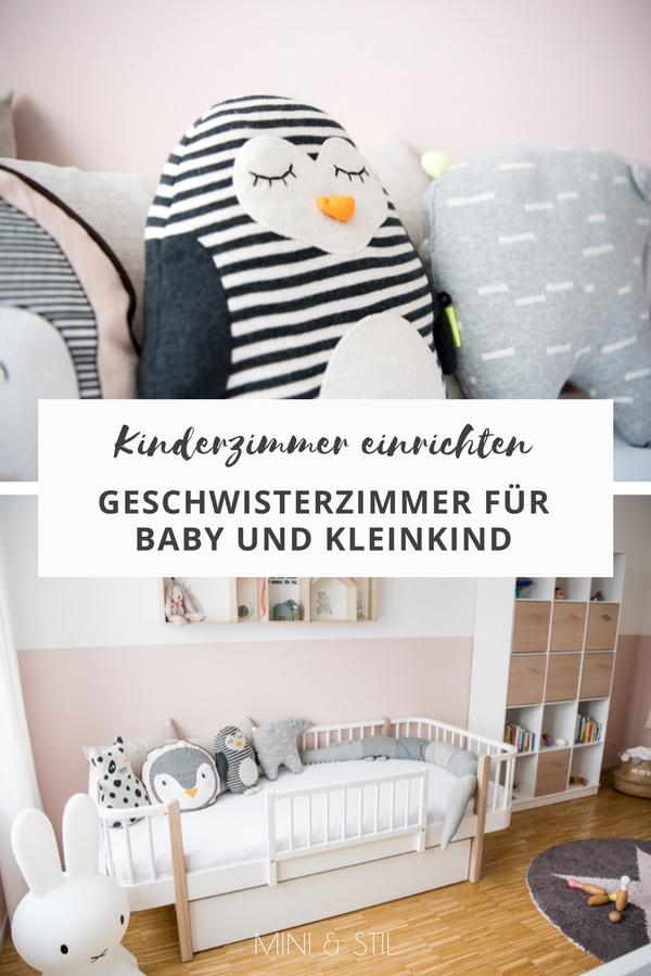 Kinderzimmer mit Oliver Furniture einrichten: Ein Geschwisterzimmer für Baby und Kleinkind #kinderzimmer #babyzimmer #geschwisterzimmer #kidsroom #nursery
