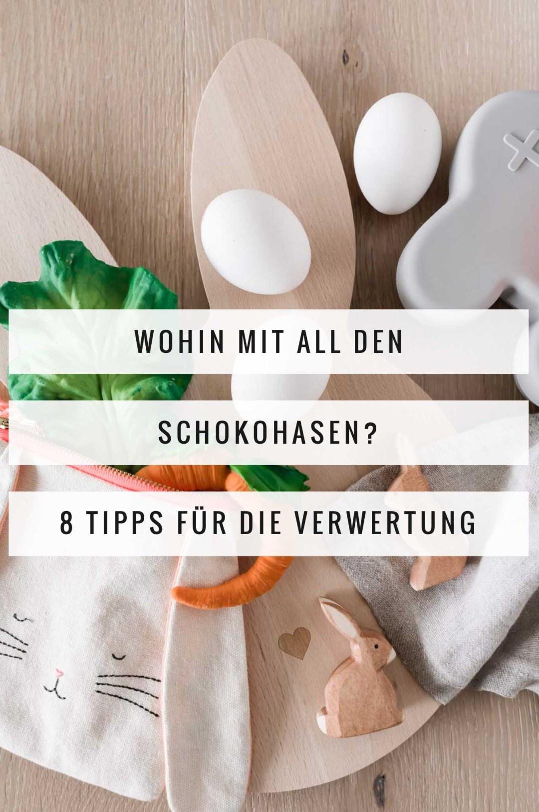 Wohin mit all den Schokohasen? 8 Tipps für die Verwertung von Osterhasenschokolade
