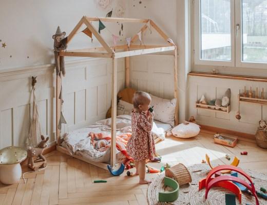 Kinderzimmer einrichten im Boho Chic: Wir zeigen wie es geht und worauf ihr achten müsst #kinderzimmer #kidsroom #boho #vintage #retro