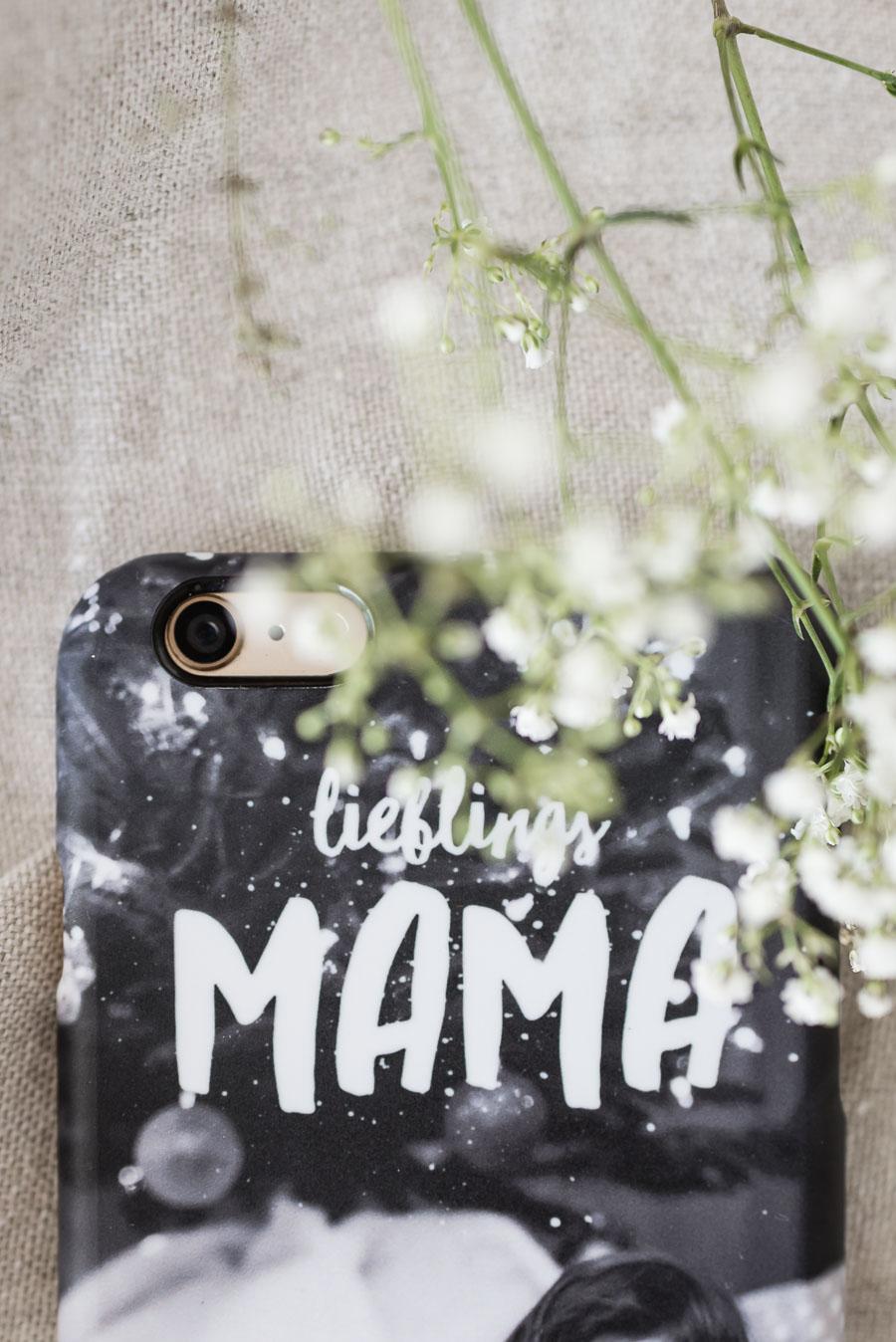 Handyhülle selber gestalten Muttertag