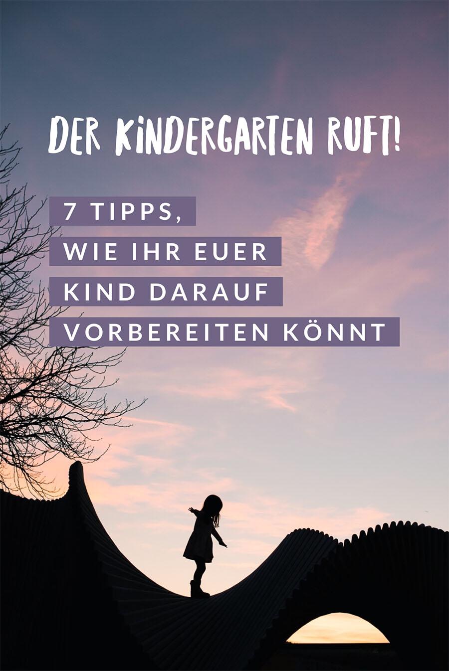 Der Kindergarten ruft: 7 Tipps, wie ihr die Kindergartenmunterkeit bis im Sommer unterstützen könnt #kindergarten