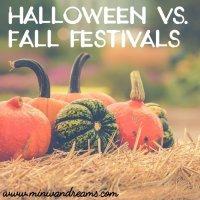 Halloween versus Fall Festivals