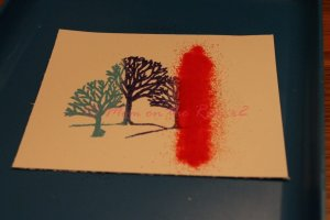 Multiple Color Heat Embossing Several Colors