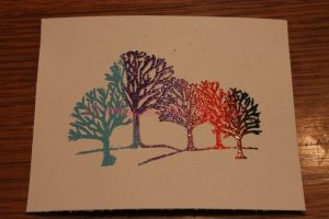 Multiple Color Heat Embossing