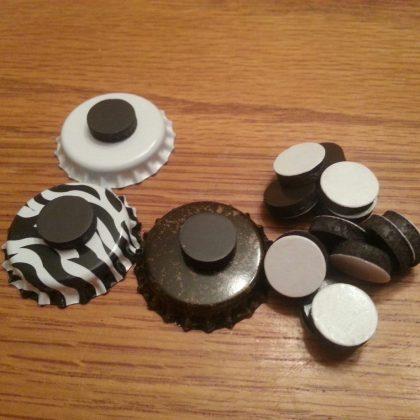 easy fridge magnets finish