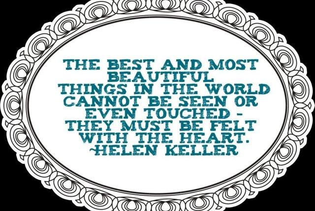 Helen Keller Life Quote