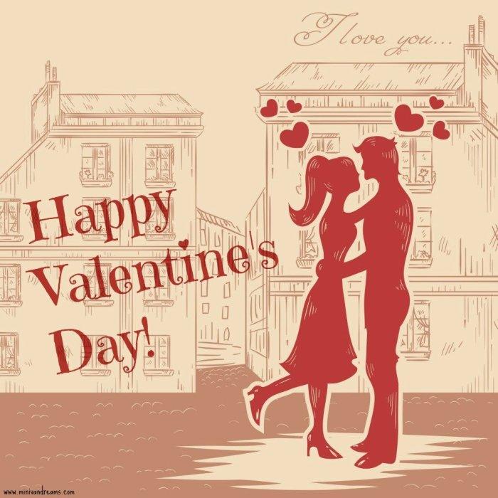 free printable valentines at mini van dreams - love couple