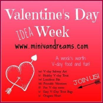 Valentine's Day Week Fun at www.minivandreams.com.