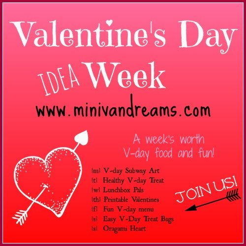 Valentine's Day Week Fun at www.minivandreams.com.