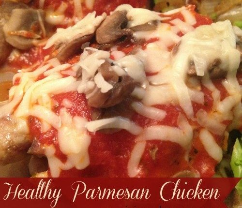 Healthy Parmesan Chicken & Tickle My Tastebuds #1 via Mini Van Dreams