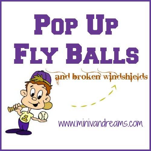 Pop Up Fly Balls and Broken Windshields | Mini Van Dreams #funnyfamilystories