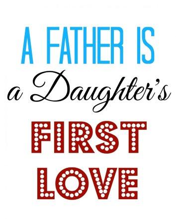 Father's Day Subway Art Free Printable | Mini Van Dreams #fathersday #free #printable