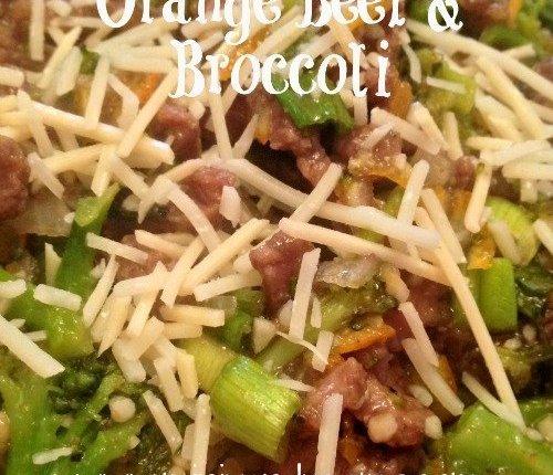 Orange Beef with Broccoli   Mini Van Dreams #healthyrecipes #recipes #easyrecipes #recipesforbeef