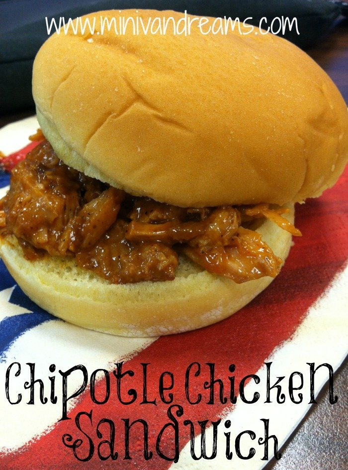 Chipotle Chicken Sandwich | Mini Van Dreams #recipes #easyrecipes #recipesforchicken