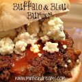 Buffalo and Bleu Burger | Mini Van Dreams #recipes #easyrecipes #recipesforsandwiches