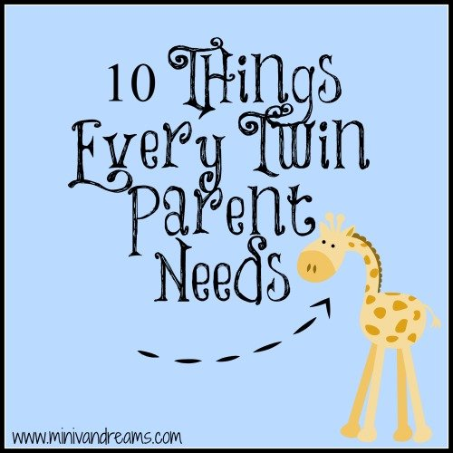 Things Twin Parents Need | Mini Van Dreams