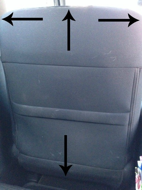 Seat Mat Tutorial   Mini Van Dreams