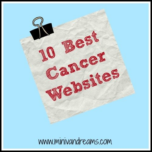 10 Best Cancer Websites | Mini Van Dreams