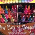 New Box of Crayons | Mini Van Dreams
