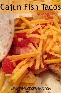 Cajun Fish Tacos   Mini Van Dreams