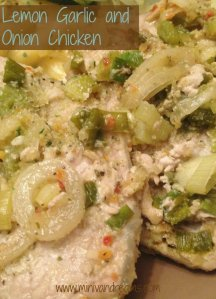 Lemon Garlic and Onion Chicken | Mini Van Dreams