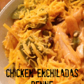 Chicken Enchiladas Penne | Mini Van Dreams