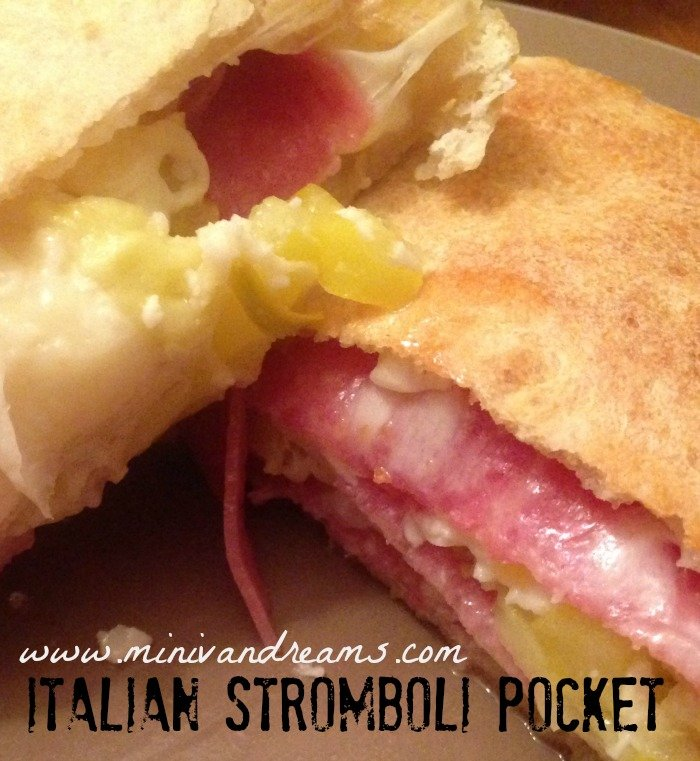 Italian Stromboli Pocket | Mini Van Dreams