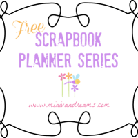Scrapbook Page Planner