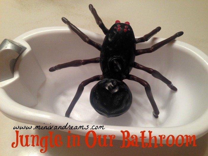 Jungle in Our Bathroom | Mini Van Dreams