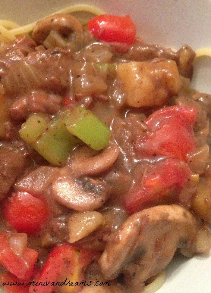 Easy Beef and Vegetable Ragout | Mini Van Dreams