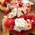 Chicken with Tomatoes and Goat Cheese | Mini Van Dreams