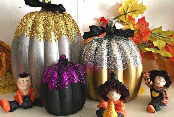 Elegant Pumpkin Decorations | Mini Van Dreams