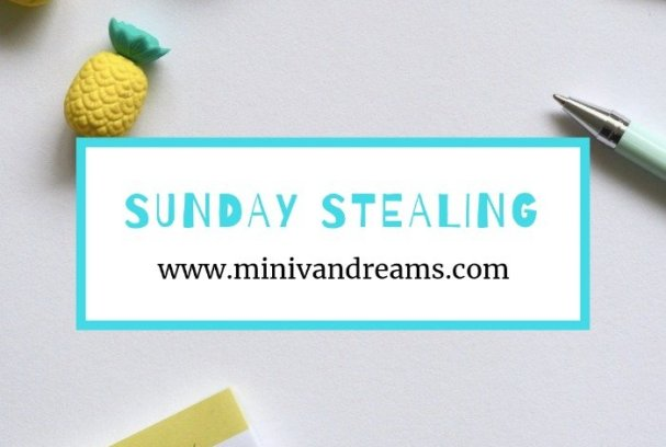 Sunday Stealing: November 11,. 2018 | Mini Van Dreams