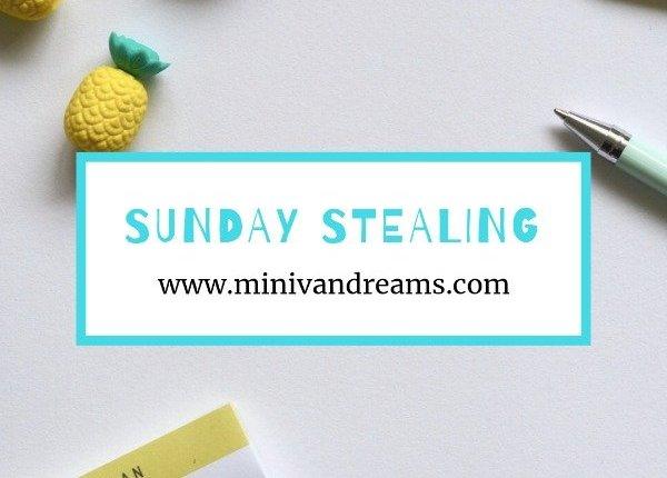 Sunday Stealing: January 13, 2019 | Mini Van Dreams