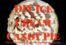 DIY Ice Cream Candy Pie