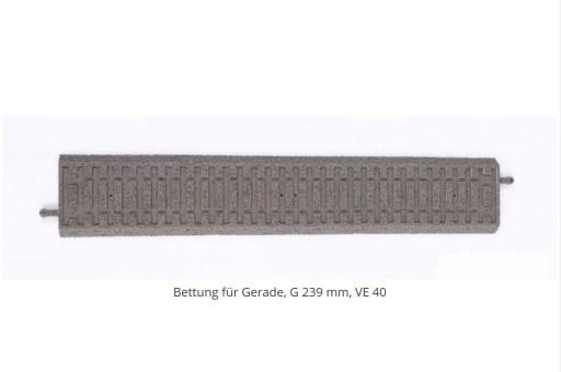 Piko 55450 - Bettung lose für G239