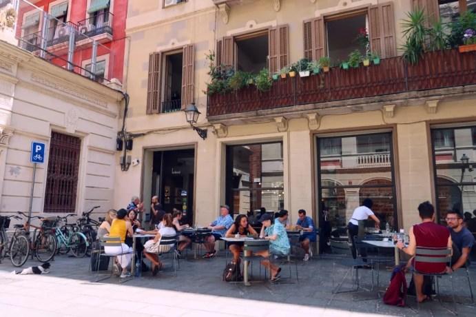 Best brunch in Barcelona @minkaguides Federal Gotic exterior