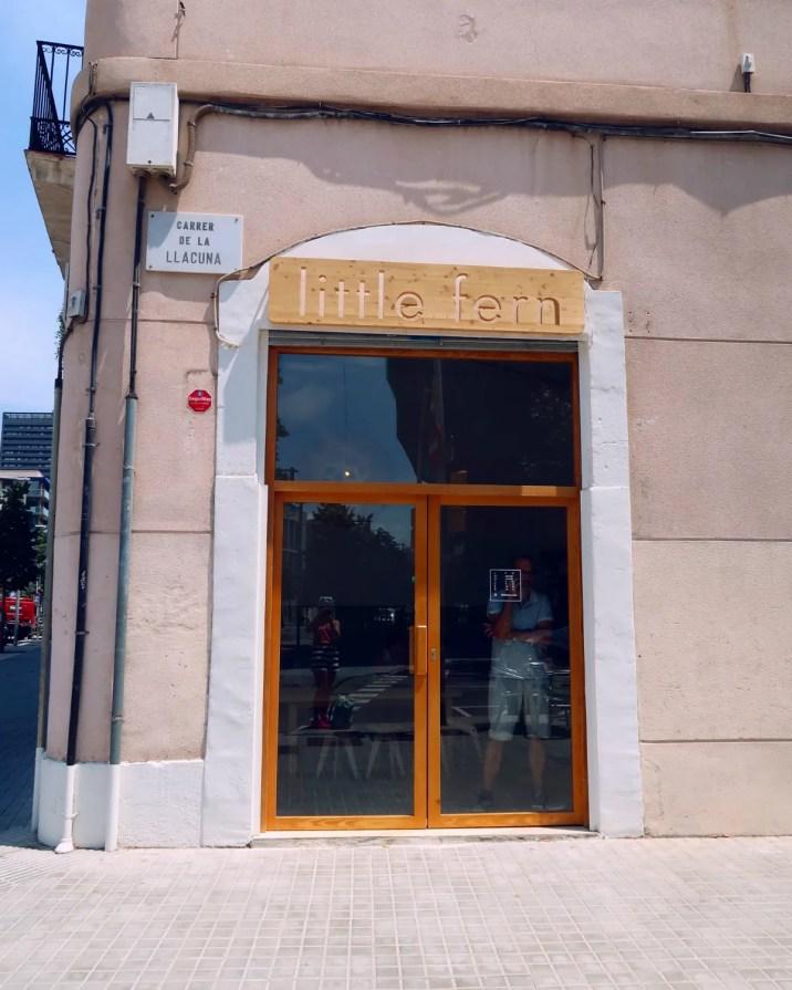 Best brunch in Barcelona @minkaguides Little Fern exterior