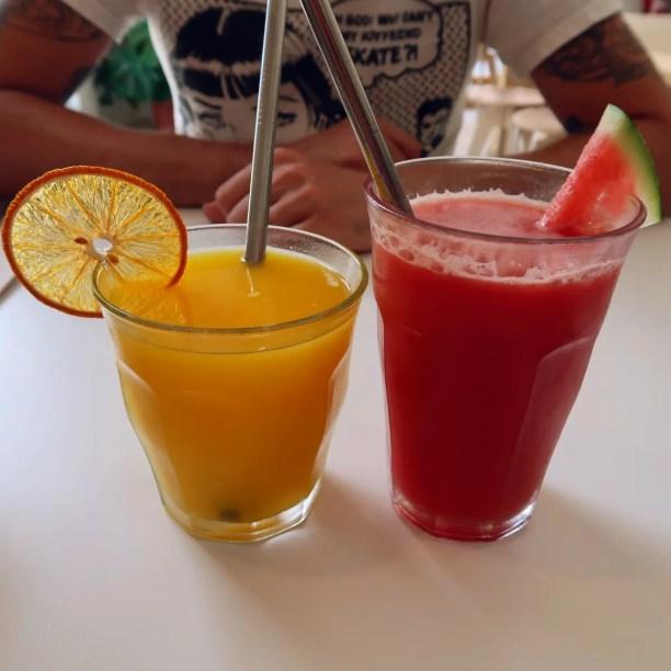 Best brunch in Barcelona @minkaguides Little Fern juices