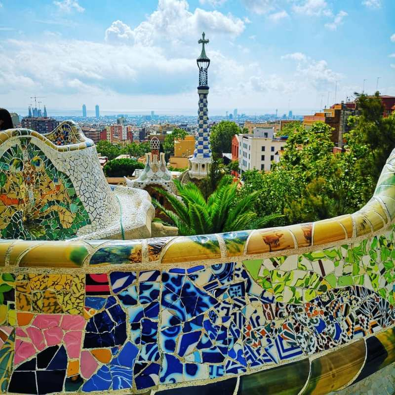 Things to do in Barcelona @pixbynicphotography Parc Guell