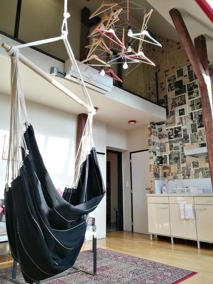 Czech Inn Prague review @minkaguides hammock