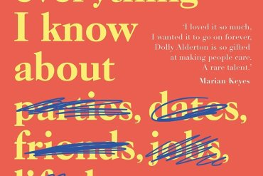 Book reviews Everything I Know About Love BANNER